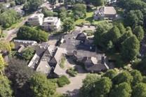 gemeenschapshuis van de voormalige gemeente Dalen te Dalen in vogelvlucht