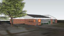 3D impressie van het nieuwe onderkomen van de Bibliotheek Dalen