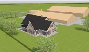 nieuwe boerderijwoning