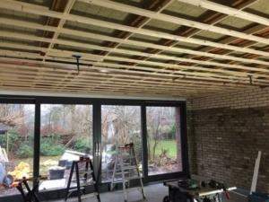 BOAH- verbouw-nieuw plafond en gevel