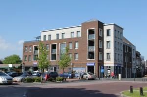 centrum Nieuw-Amsterdam: nieuwbouw van winkels en appartementen
