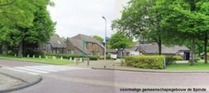 oorspronkelijke voorgevel gemeentehuis en MFC Dalen